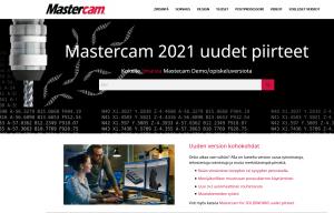 Mastercam 2021 uudet piirteet!